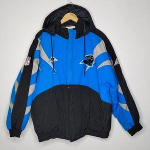 Vintage Apex Carolina Panthers Coat XL